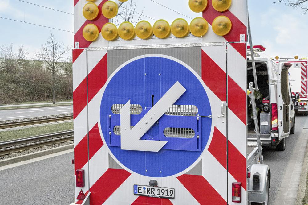 fahrbahnabsicherung
